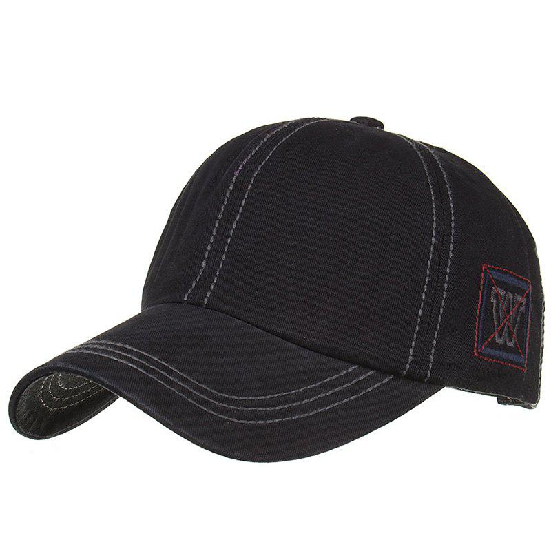 Discount Unique W Embroidery Adjustable Graphic Hat