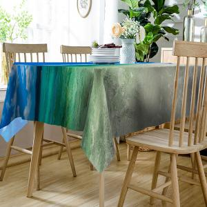 Ocean Clouds Sky Print Table Cloth -