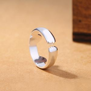 Metal Cat Ear Paw Adjustable Cuff Finger Ring -