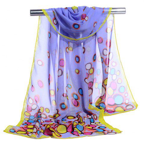 Buy Cute Color Dot Decorated Spring Autumn Scarf