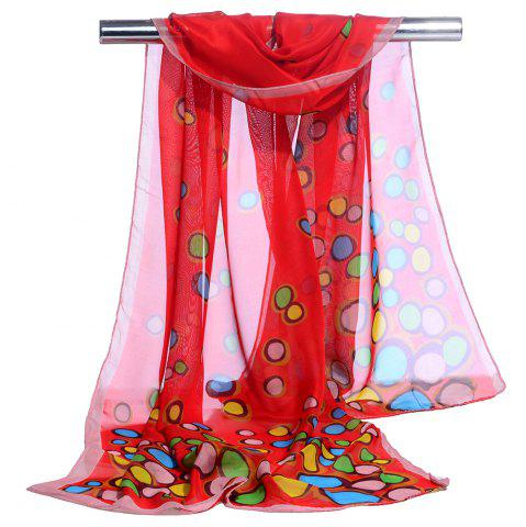 Shops Cute Color Dot Decorated Spring Autumn Scarf