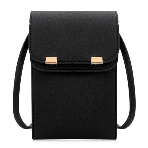 Best Stitching Minimalist Flapped Cellphone Crossbody Bag