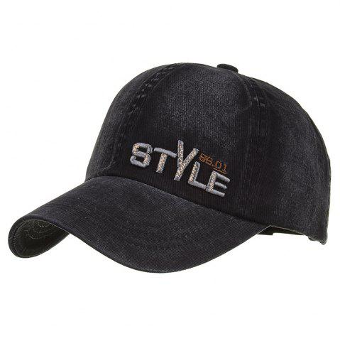 Unique STYLE Embroidery Adjustable Baseball Cap