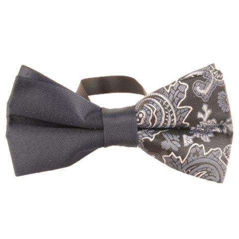 Outfit Unique Asymmetric Cashew Pattern Bowtie
