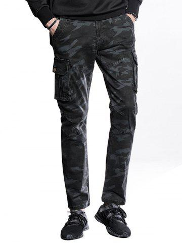 Pantalon Cargo Slim Fit à poches multiples
