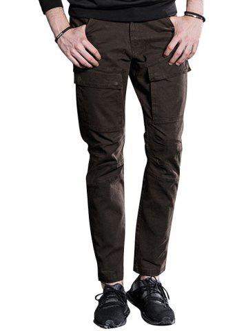 Best Slim Fit Cargo Pants with Flap Pockets
