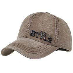 STYLE Embroidery Adjustable Baseball Cap -