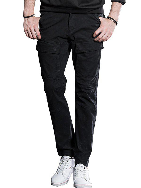 Latest Slim Fit Cargo Pants with Flap Pockets