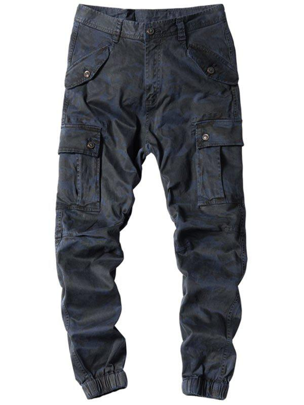 Affordable Camouflage Jogger Cargo Pants with Multi Pockets