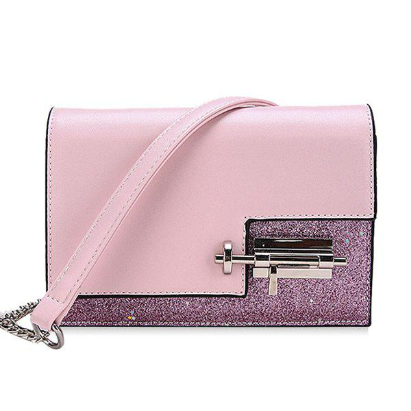 Outfits Chain Flap Sequined Crossbody Bag