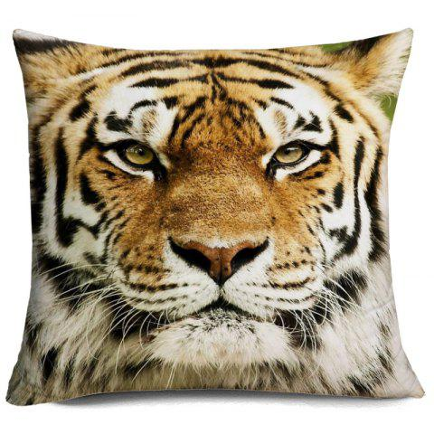 Buy Tiger Head 3D Printed Throw Pillow Case