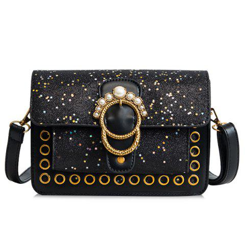 Sac bandoulière Shimmer Stars Faux Pearls