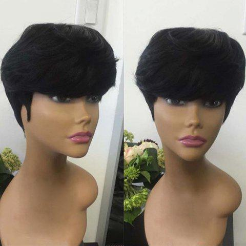 Sale Short Side Bang Straight Synthetic Wig
