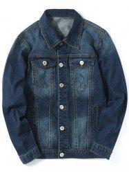 Chest Pocket Classic Jean Jacket -