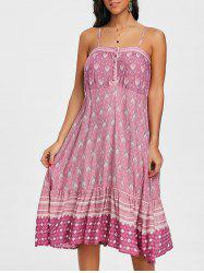 Bohemian Baroque Print Cami Dress -