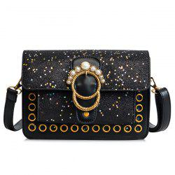 Sac bandoulière Shimmer Stars Faux Pearls -