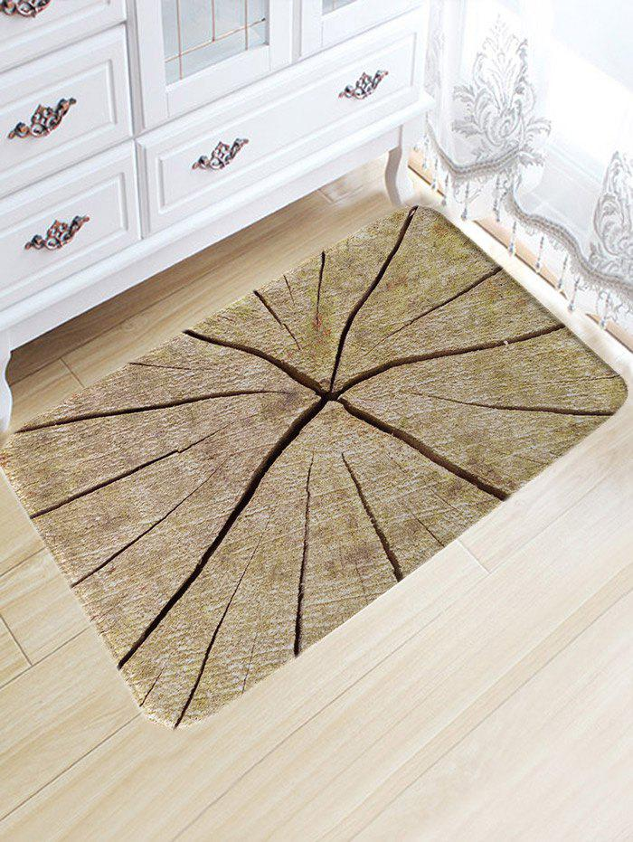 Shops Crack Wood Print Water Absorption Area Rug