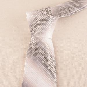 Vintage Polka Dot Striped Pattern Necktie -