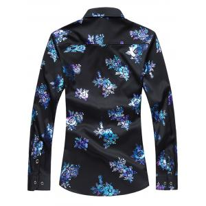 Floral Casual Long Sleeve Shirt -