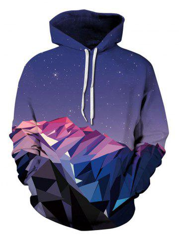 Outfits 3D Starry Sky Print Hoodie