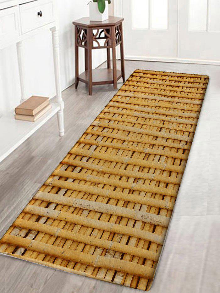 Cheap Bamboo Poles Pattern Water Absorption Area Rug