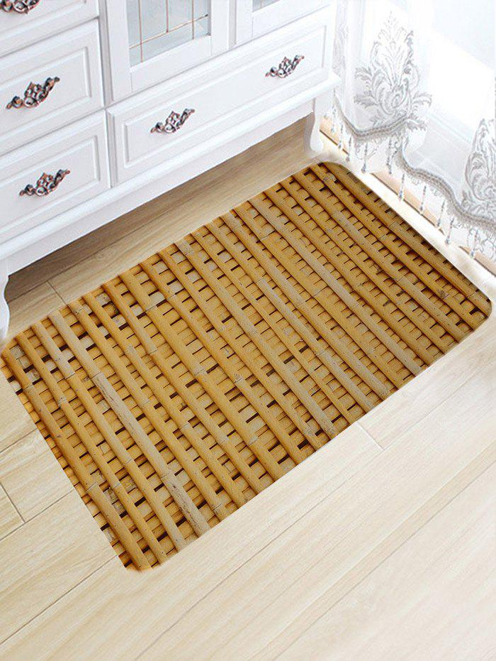 Best Bamboo Poles Pattern Water Absorption Area Rug