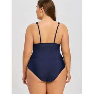 Plus Size Cheeky Cami One Piece Swimsuit -