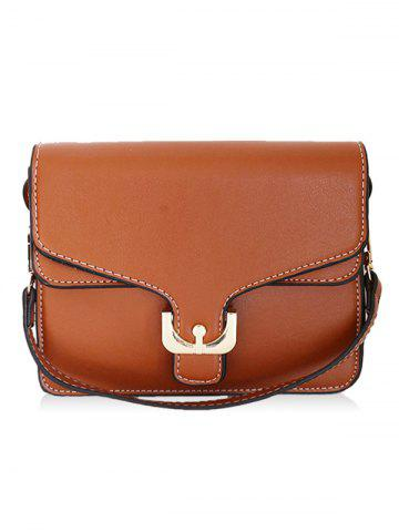 Affordable Metal Flap Stitching Crossbody Bag
