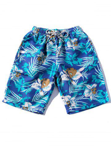 Short hawaïen à cordon