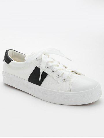 New Stitching Breathable Contrasting Color Trainers
