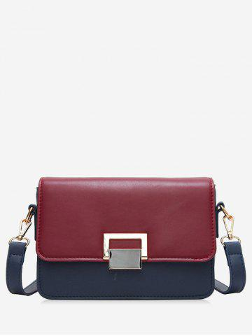 Cheap Flapped Buckled Crossbody Bag
