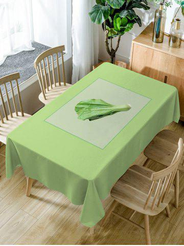 Sale Vegetables Print Waterproof Dining Table Cloth