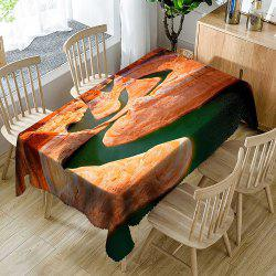 Mountain Lake Pattern Table Cloth -