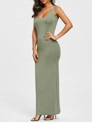 Sleeveless Maxi Dress -