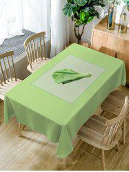 Vegetables Print Waterproof Dining Table Cloth -