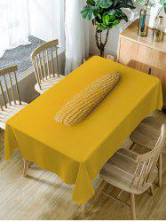 Corn Print Fabric Waterproof Dining Table Cloth -