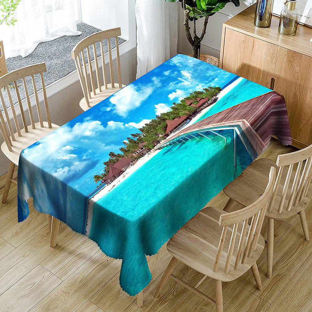 Best Seascape Printed Waterproof Table Cloth
