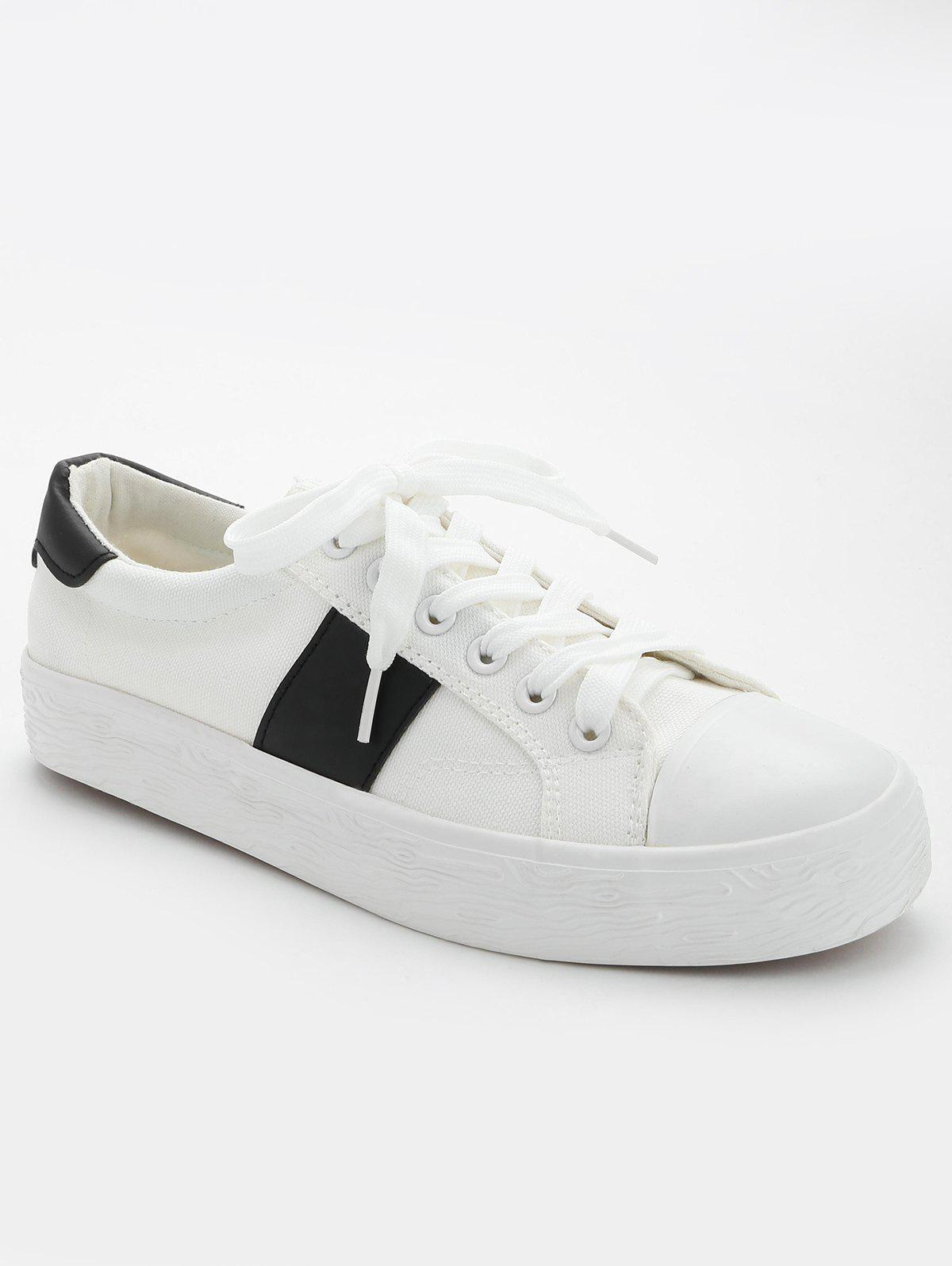Online Stitching Breathable Contrasting Color Trainers