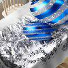 Christmas Balls Printed Waterproof Table Cloth -