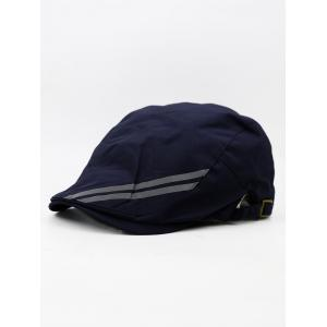 Striped Pattern Quick Drying Waterproof Newsboy Hat -