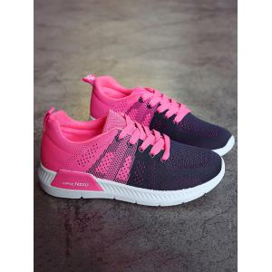 Athletic Mesh Color Splicing Sneakers -