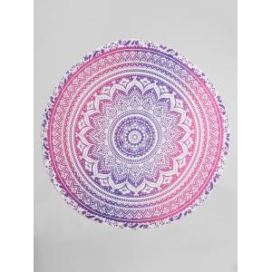 Bohemian Ombre Mandala Beach Throw -