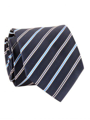 Discount Striped Pattern Silky Formal Business Tie