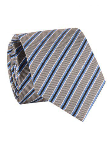 New Striped Pattern Silky Formal Business Tie