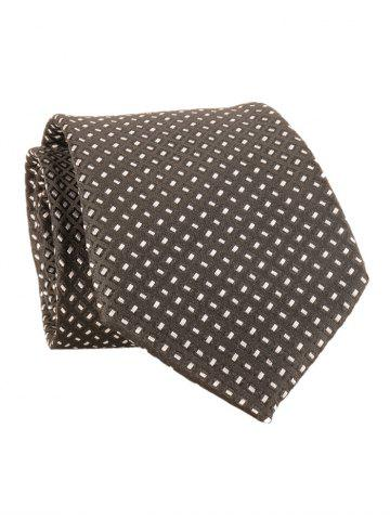 Buy Checked Pattern Embellished Formal Bueiness Tie