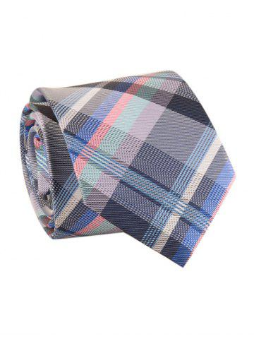 Best Checked Pattern Embellished Formal Bueiness Tie
