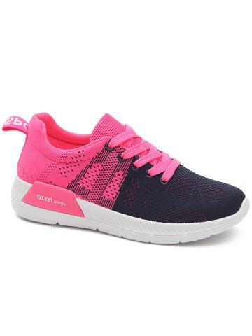 Buy Athletic Mesh Color Splicing Sneakers