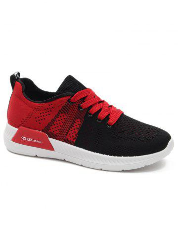 Outfit Athletic Mesh Color Splicing Sneakers
