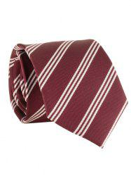 Полосатый шаблон Silky Formal Business Tie -