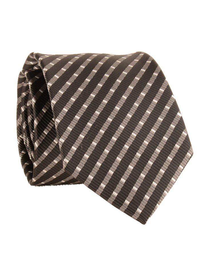 Outfits Striped Pattern Silky Formal Business Tie